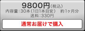 9800円の通常お届けで購入